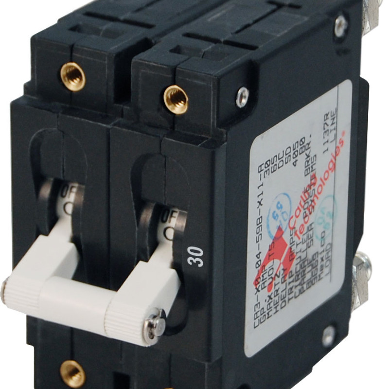 Blue Sea C-series White Magnetic Circuit Breaker