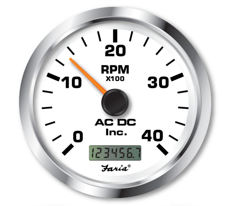 Non Programmable Tachometer With Digital Hourmeter 4000