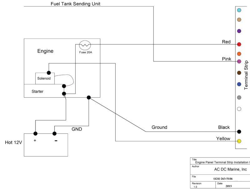 panel techincal sheet 2 white caterpillar marine engine instrument panel, white gauges  at cos-gaming.co