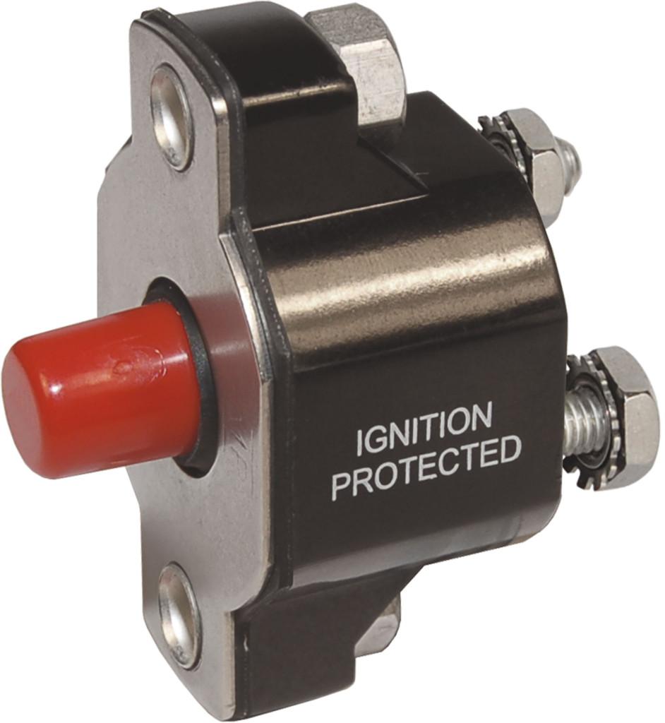 Medium Duty Push Button Reset Only Circuit Breaker
