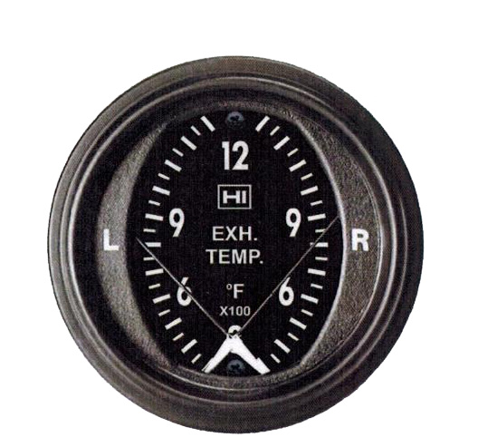 Dual Pyrometer 3 13f Egt Gauge on vdo temperature gauge wiring diagrams