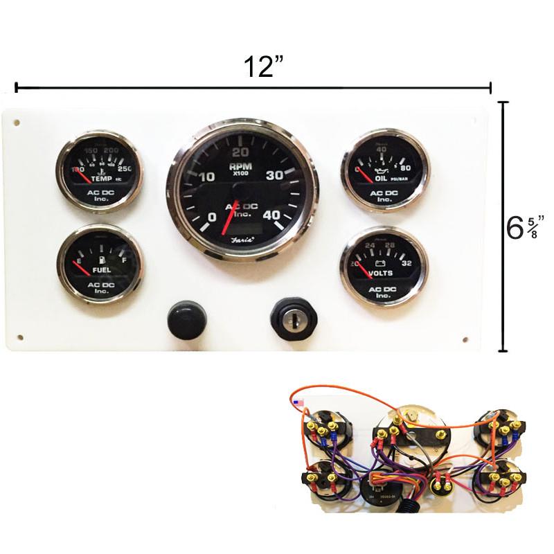caterpillar marine engine instrument panel