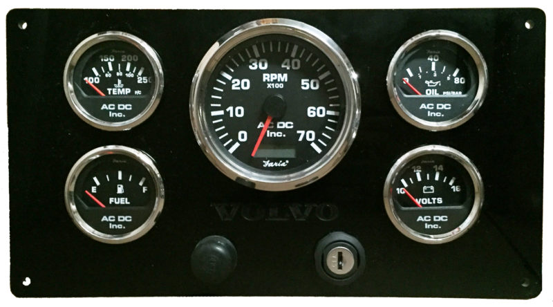 volvo penta marine gauge panel on volvo penta tach wiring diagram